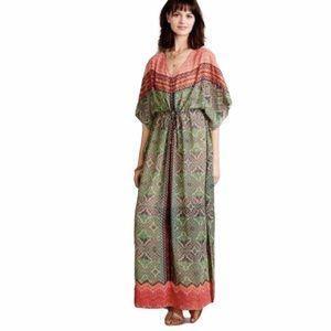 Anthropologie Vanessa Virginia Chama Caftan Dress